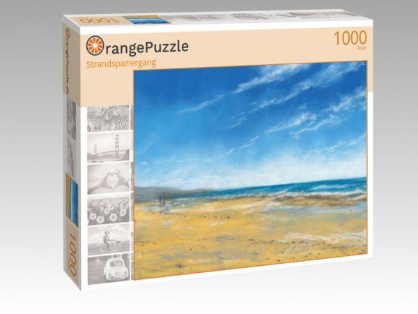 """Puzzle Motiv """"Strandspaziergang"""" - Puzzle-Schachtel zu 1000 Teile Puzzle"""