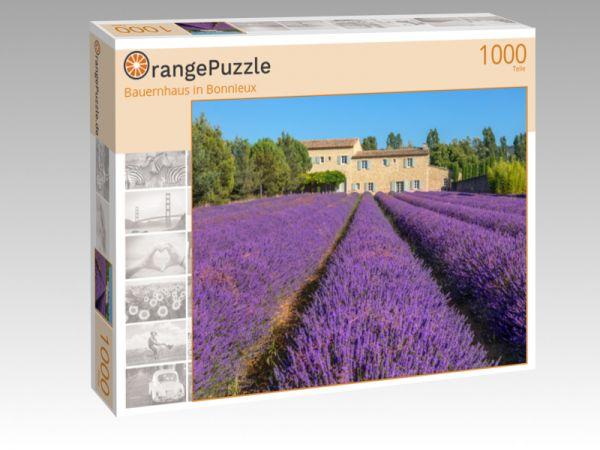 """Puzzle Motiv """"Bauernhaus in Bonnieux"""" - Puzzle-Schachtel zu 1000 Teile Puzzle"""