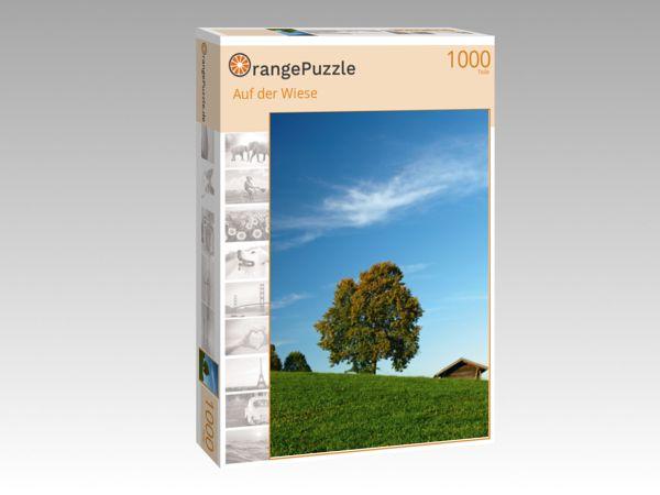 """Puzzle Motiv """"Auf der Wiese"""" - Puzzle-Schachtel zu 1000 Teile Puzzle"""