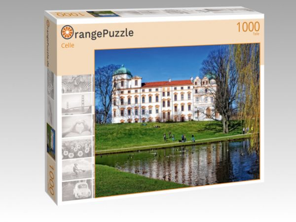 """Puzzle Motiv """"Celle"""" - Puzzle-Schachtel zu 1000 Teile Puzzle"""