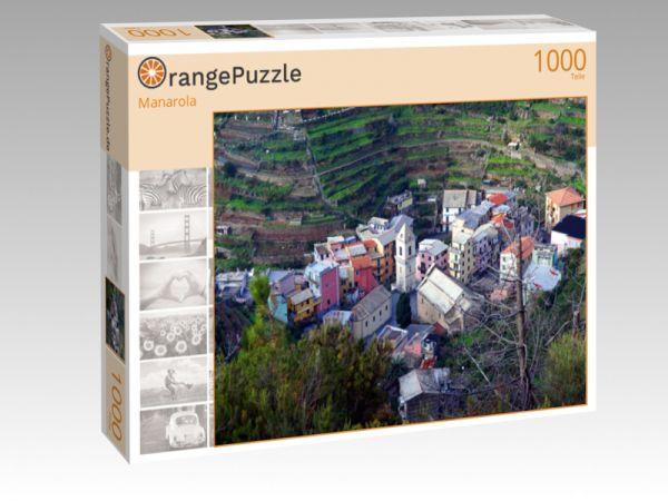 """Puzzle Motiv """"Manarola"""" - Puzzle-Schachtel zu 1000 Teile Puzzle"""