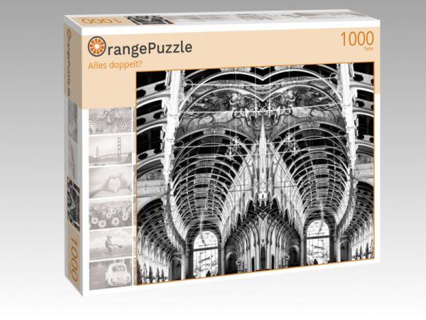 """Puzzle Motiv """"Alles doppelt?"""" - Puzzle-Schachtel zu 1000 Teile Puzzle"""