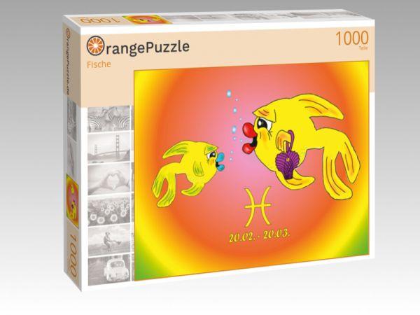 """Puzzle Motiv """"Fische"""" - Puzzle-Schachtel zu 1000 Teile Puzzle"""