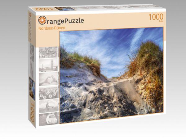 """Puzzle Motiv """"Nordsee-Dünen"""" - Puzzle-Schachtel zu 1000 Teile Puzzle"""