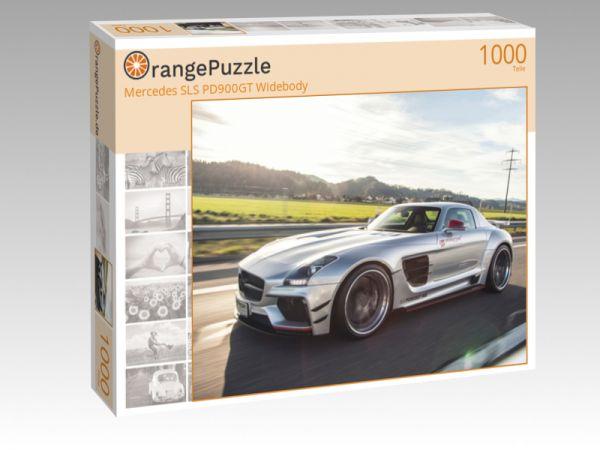 """Puzzle Motiv """"Mercedes SLS PD900GT Widebody"""" - Puzzle-Schachtel zu 1000 Teile Puzzle"""