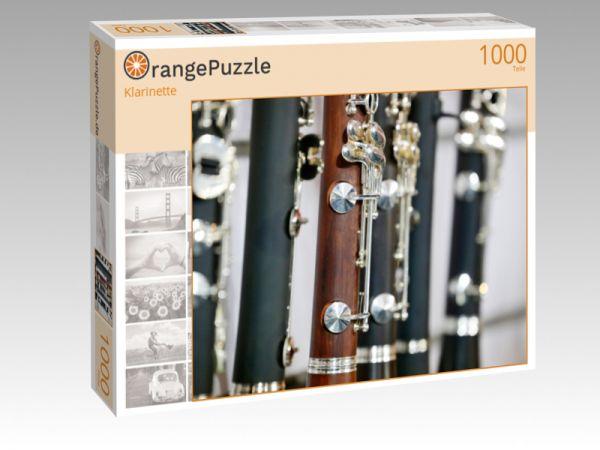"""Puzzle Motiv """"Klarinette"""" - Puzzle-Schachtel zu 1000 Teile Puzzle"""