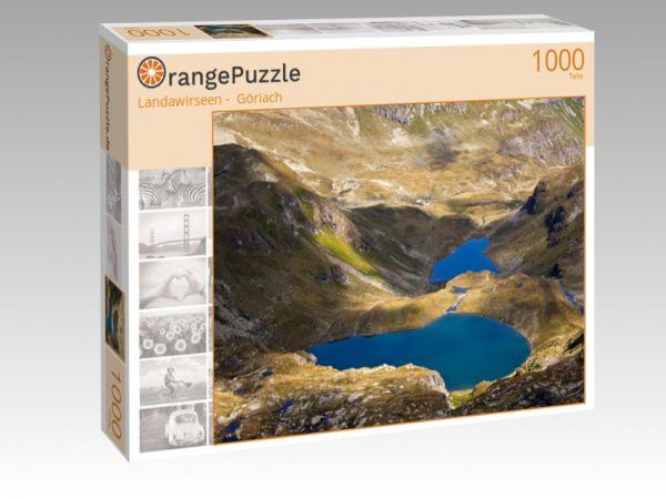 "Puzzle Motiv ""Landawirseen -  Göriach"" - Puzzle-Schachtel zu 1000 Teile Puzzle"