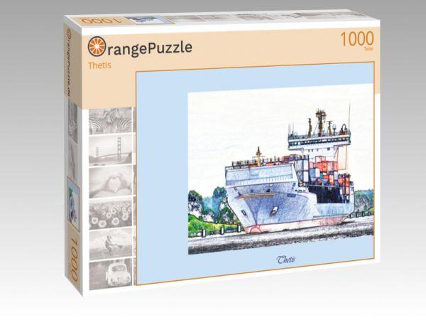 """Puzzle Motiv """"Thetis"""" - Puzzle-Schachtel zu 1000 Teile Puzzle"""