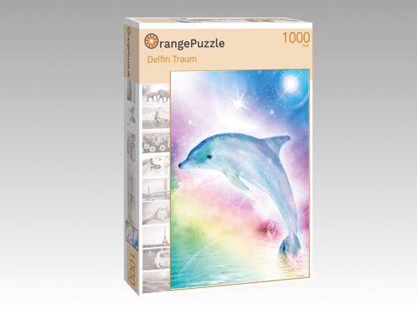 """Puzzle Motiv """"Delfin Traum"""" - Puzzle-Schachtel zu 1000 Teile Puzzle"""