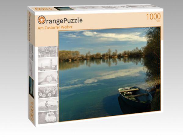 """Puzzle Motiv """"Am Zustorfer Weiher"""" - Puzzle-Schachtel zu 1000 Teile Puzzle"""