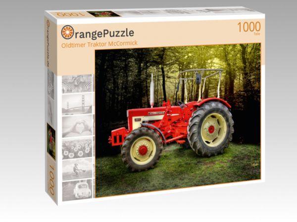 """Puzzle Motiv """"Oldtimer Traktor McCormick"""" - Puzzle-Schachtel zu 1000 Teile Puzzle"""