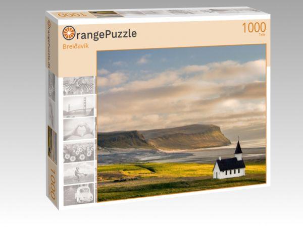 """Puzzle Motiv """"Breiðavík"""" - Puzzle-Schachtel zu 1000 Teile Puzzle"""