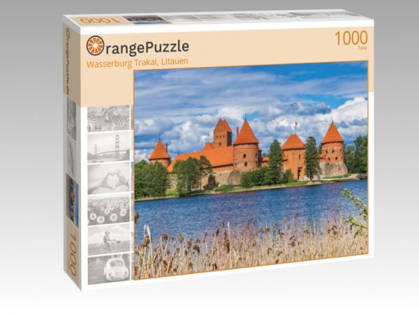 """Puzzle Motiv """"Wasserburg Trakai, Litauen"""" - Puzzle-Schachtel zu 1000 Teile Puzzle"""