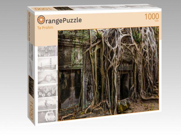 """Puzzle Motiv """"Ta Prohm"""" - Puzzle-Schachtel zu 1000 Teile Puzzle"""