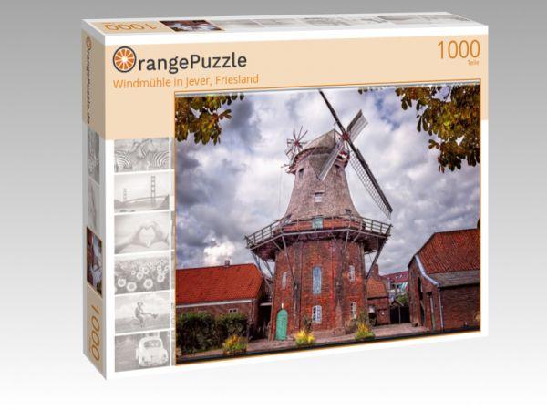 "Puzzle Motiv ""Windmühle in Jever, Friesland"" - Puzzle-Schachtel zu 1000 Teile Puzzle"