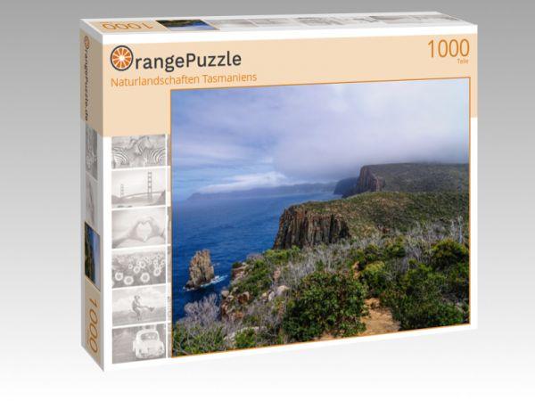 """Puzzle Motiv """"Naturlandschaften Tasmaniens"""" - Puzzle-Schachtel zu 1000 Teile Puzzle"""