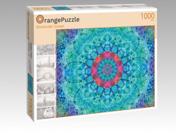 """Puzzle Motiv """"Blühender Ozean"""" - Puzzle-Schachtel zu 1000 Teile Puzzle"""