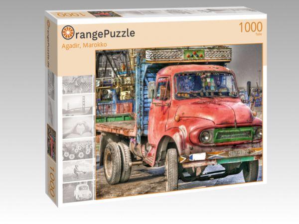 "Puzzle Motiv ""Agadir, Marokko"" - Puzzle-Schachtel zu 1000 Teile Puzzle"