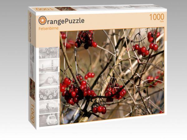 """Puzzle Motiv """"Felsenbirne"""" - Puzzle-Schachtel zu 1000 Teile Puzzle"""