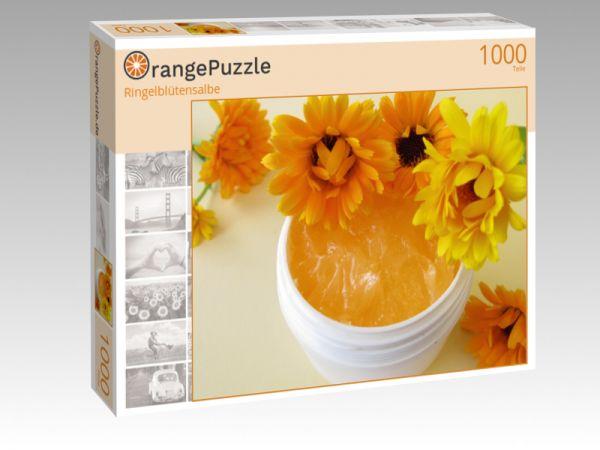"Puzzle Motiv ""Ringelblütensalbe"" - Puzzle-Schachtel zu 1000 Teile Puzzle"