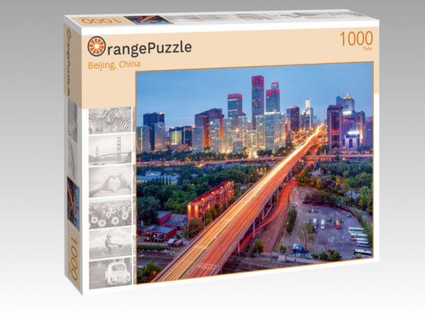 """Puzzle Motiv """"Beijing, China"""" - Puzzle-Schachtel zu 1000 Teile Puzzle"""