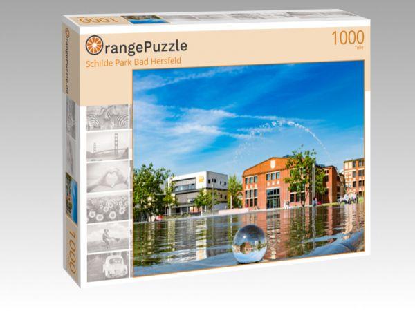 """Puzzle Motiv """"Schilde Park Bad Hersfeld"""" - Puzzle-Schachtel zu 1000 Teile Puzzle"""