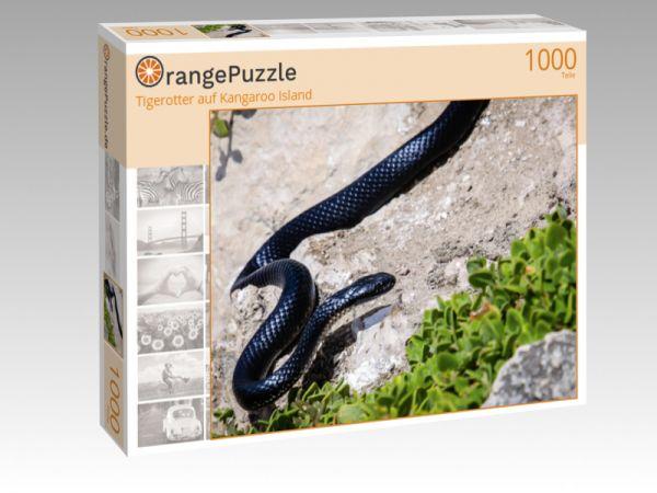 "Puzzle Motiv ""Tigerotter auf Kangaroo Island"" - Puzzle-Schachtel zu 1000 Teile Puzzle"