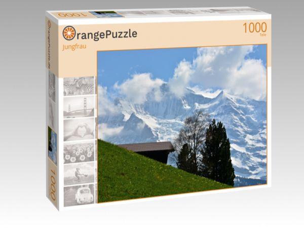 """Puzzle Motiv """"Jungfrau"""" - Puzzle-Schachtel zu 1000 Teile Puzzle"""