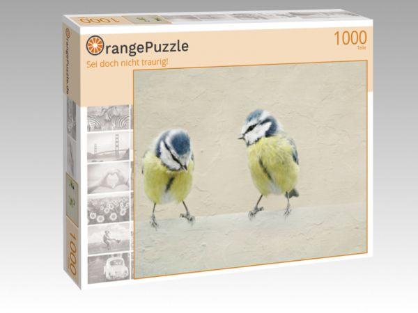 """Puzzle Motiv """"Sei doch nicht traurig!"""" - Puzzle-Schachtel zu 1000 Teile Puzzle"""