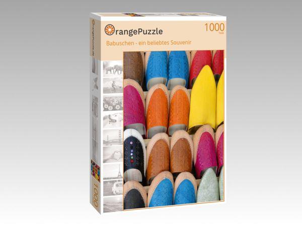 """Puzzle Motiv """"Babuschen - ein beliebtes Souvenir"""" - Puzzle-Schachtel zu 1000 Teile Puzzle"""