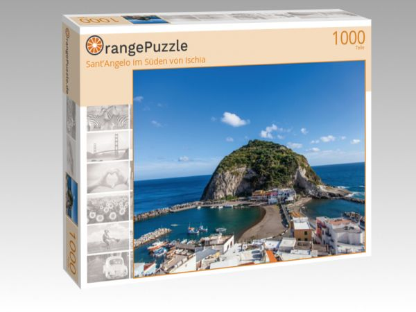 """Puzzle Motiv """"Sant'Angelo im Süden von Ischia"""" - Puzzle-Schachtel zu 1000 Teile Puzzle"""