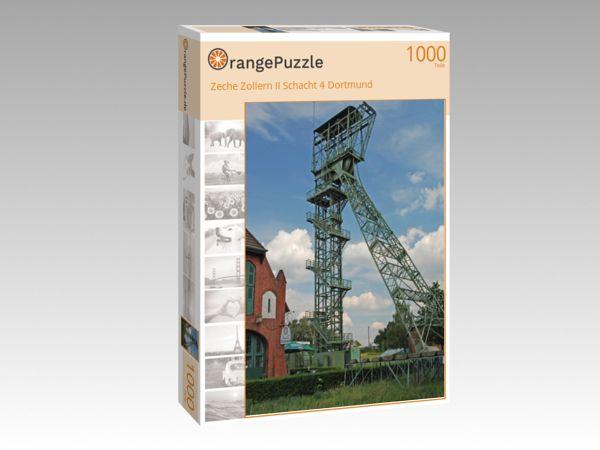 """Puzzle Motiv """"Zeche Zollern II Schacht 4 Dortmund"""" - Puzzle-Schachtel zu 1000 Teile Puzzle"""