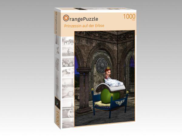 """Puzzle Motiv """"Prinzessin auf der Erbse"""" - Puzzle-Schachtel zu 1000 Teile Puzzle"""