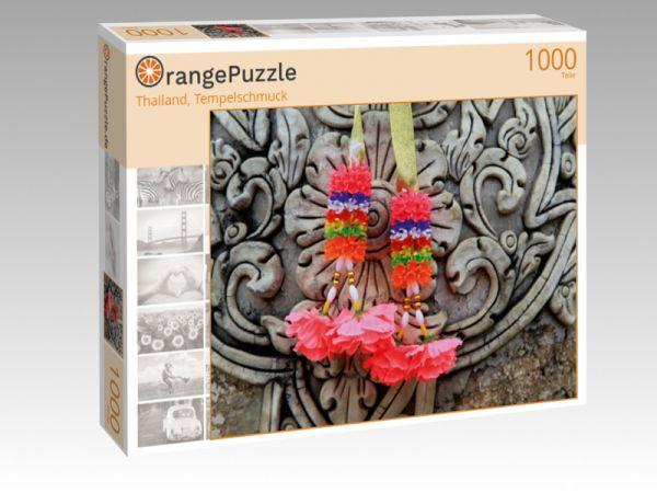 """Puzzle Motiv """"Thailand, Tempelschmuck"""" - Puzzle-Schachtel zu 1000 Teile Puzzle"""