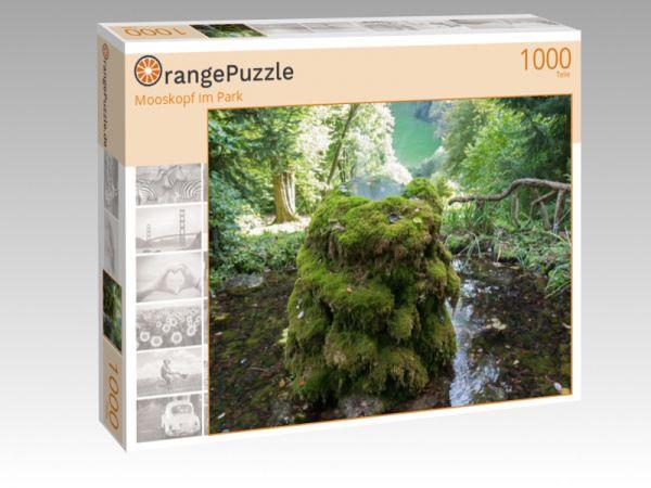 """Puzzle Motiv """"Mooskopf im Park"""" - Puzzle-Schachtel zu 1000 Teile Puzzle"""