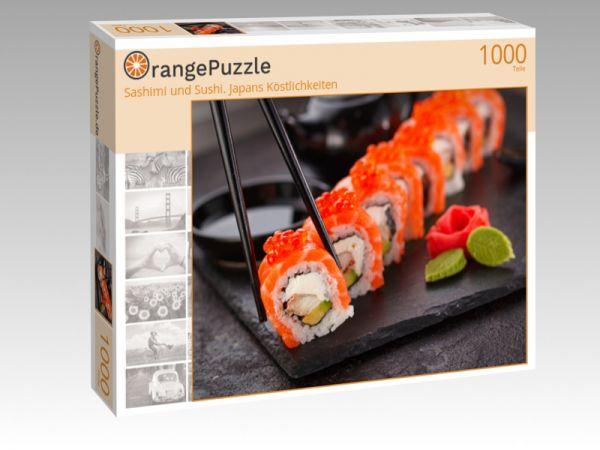"""Puzzle Motiv """"Sashimi und Sushi. Japans Köstlichkeiten"""" - Puzzle-Schachtel zu 1000 Teile Puzzle"""