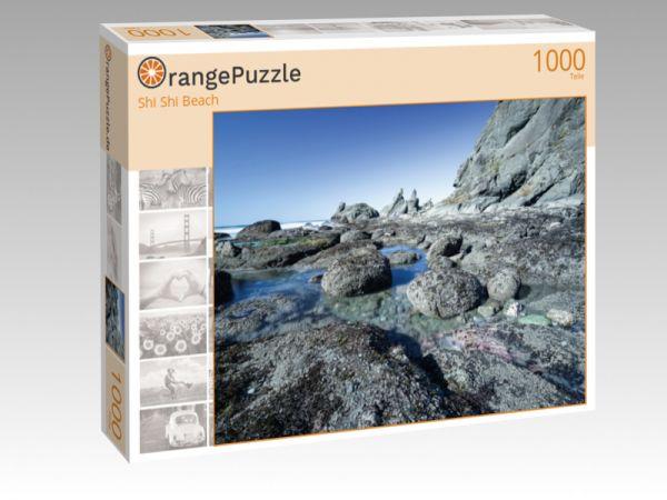 """Puzzle Motiv """"Shi Shi Beach"""" - Puzzle-Schachtel zu 1000 Teile Puzzle"""