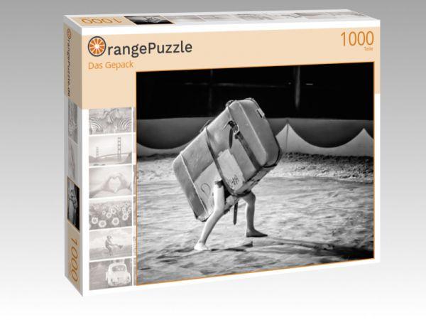 """Puzzle Motiv """"Das Gepack"""" - Puzzle-Schachtel zu 1000 Teile Puzzle"""