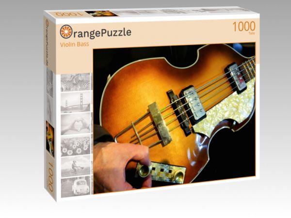 """Puzzle Motiv """"Violin Bass"""" - Puzzle-Schachtel zu 1000 Teile Puzzle"""