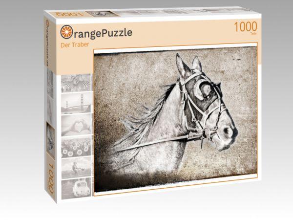 "Puzzle Motiv ""Der Traber"" - Puzzle-Schachtel zu 1000 Teile Puzzle"