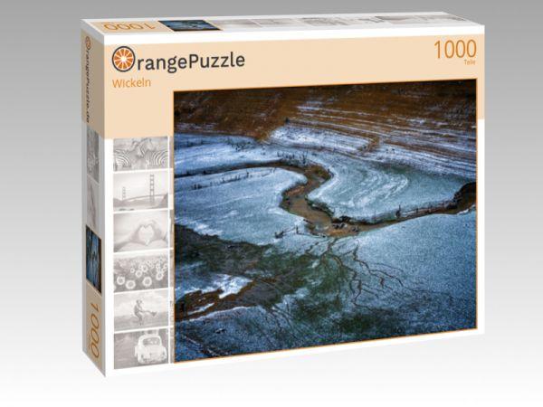 "Puzzle Motiv ""Wickeln"" - Puzzle-Schachtel zu 1000 Teile Puzzle"