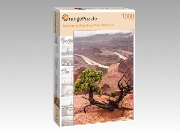 """Puzzle Motiv """"Dead Horse Point State Park - Utah, USA"""" - Puzzle-Schachtel zu 1000 Teile Puzzle"""
