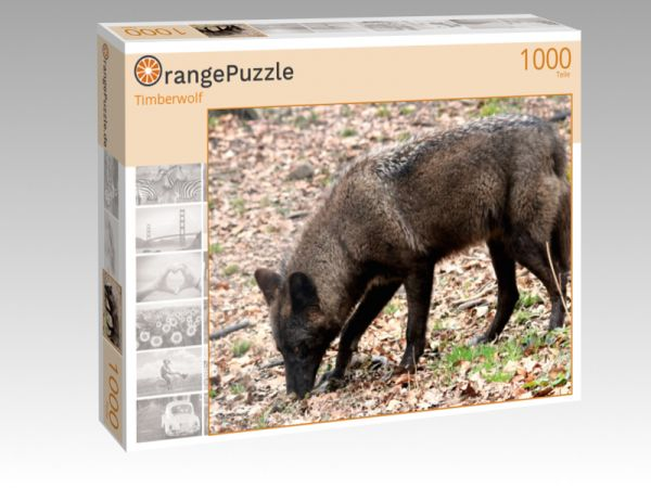 "Puzzle Motiv ""Timberwolf"" - Puzzle-Schachtel zu 1000 Teile Puzzle"