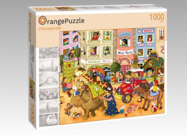 """Puzzle Motiv """"Zirkusparade"""" - Puzzle-Schachtel zu 1000 Teile Puzzle"""