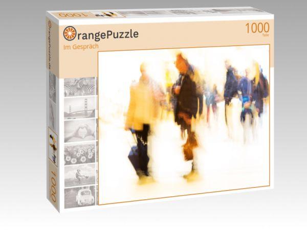 """Puzzle Motiv """"Im Gespräch"""" - Puzzle-Schachtel zu 1000 Teile Puzzle"""