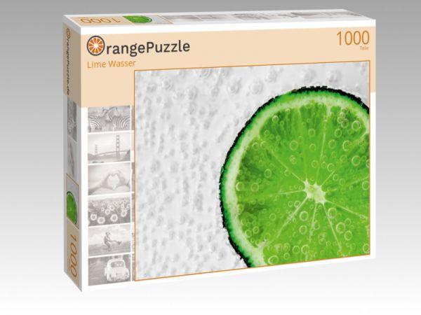 """Puzzle Motiv """"Lime Wasser"""" - Puzzle-Schachtel zu 1000 Teile Puzzle"""