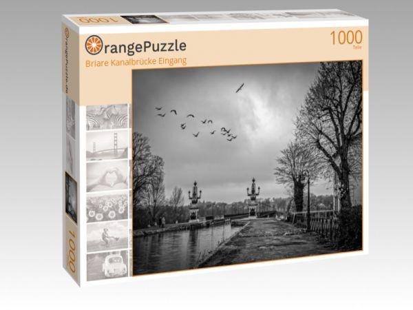 "Puzzle Motiv ""Briare Kanalbrücke Eingang"" - Puzzle-Schachtel zu 1000 Teile Puzzle"