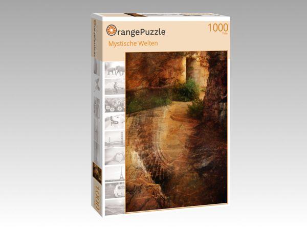 """Puzzle Motiv """"Mystische Welten"""" - Puzzle-Schachtel zu 1000 Teile Puzzle"""