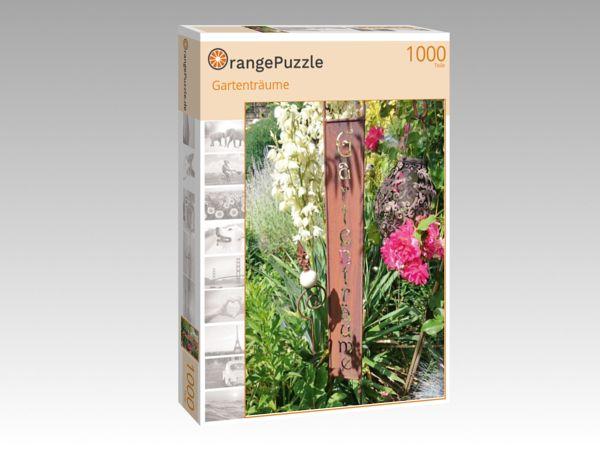 """Puzzle Motiv """"Gartenträume"""" - Puzzle-Schachtel zu 1000 Teile Puzzle"""