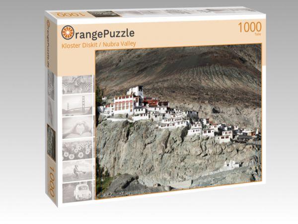 """Puzzle Motiv """"Kloster Diskit / Nubra Valley"""" - Puzzle-Schachtel zu 1000 Teile Puzzle"""
